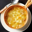 Stock Photo: Hot soup