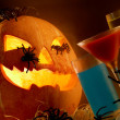 Halloween composition — Stockfoto