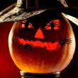 Evil pumpkin - Stockfoto