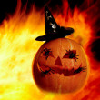 Flame with gourd — Stockfoto #11337443