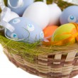 Eggs in basket — Stock Photo #11337485