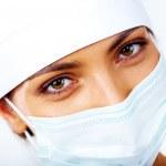 Nurse in mask — Stock Photo