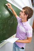 Checking homework — Stock Photo