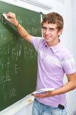 Geniusz fizyki — Zdjęcie stockowe