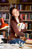 Educated female — Stock Photo