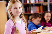 Youthful reader — Stock Photo