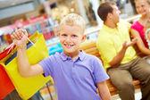 Succesvolle shopper — Stockfoto