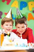 誕生日のお祝い — ストック写真