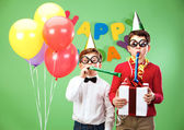 Birthday fun — Stock Photo