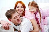 Happy family — Stock Photo