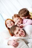 Relaxing family — Stock Photo