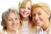 Female relatives — Stock Photo