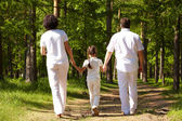 Walk in the forest — Stock Photo