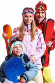 Snowboarders — Stockfoto