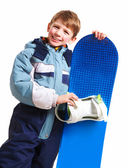 Youthful skateboarder — Stock Photo