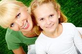 ママと娘 — ストック写真