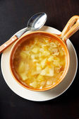 Hot soup — Stock Photo