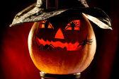 Evil pumpkin — Stock Photo
