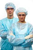 Two surgeons — Stock Photo