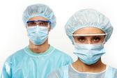 Equipe medica — Foto Stock