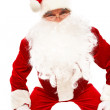Curious Santa — Stock Photo #11340358