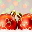 Christmas baubles - Stockfoto