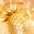 Decorative pine cone - Stock Photo