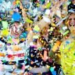 Confetti joy — Stock Photo