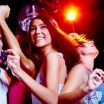 Energetic dance — Stock Photo