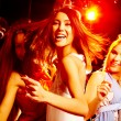Dancing at party — Stock Photo
