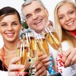 Toast for success - Stock Photo