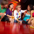 In the nightclub — Stock Photo
