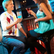 Couple in the bar — Stock Photo #11340944