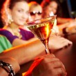 Glass with martini — Stock Photo #11340980