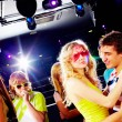 Friends clubbing — Stock Photo #11341052