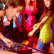 During disco — Stock Photo