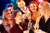 New year - party — Stock Photo