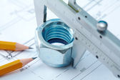 Architect tool — Stock Photo