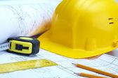 Instruments of builder — Stock Photo