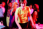 Deejay at work — Stock Photo