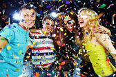 Party excitement — Foto Stock