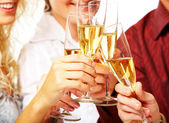 Toasting — Stock Photo