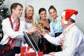 Corporate party — Stock Photo