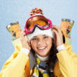 Winter sport — Stock Photo #11581190