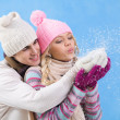 Snow fun — Stock Photo