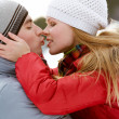 Winter romance — Stock Photo #11582297