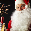 Treacherous Santa - Stock Photo