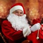 Christmas magician — Stock Photo