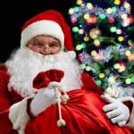 Christmas grandad — Stock Photo