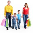 Happy shoppers — Stock Photo #11582702